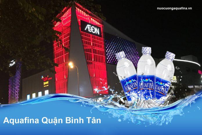 Đại lý nước Aquafina Quận Bình Tân