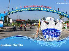 Đại lý nước Aquafina Huyện Củ Chi