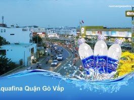Đại lý nước Aquafina Quận Gò Vấp