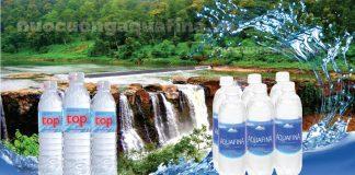 Nên chọn nước uống Aquafina hay TOP