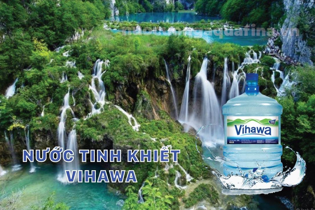 Nước tinh khiết Vihawa 20L có vòi