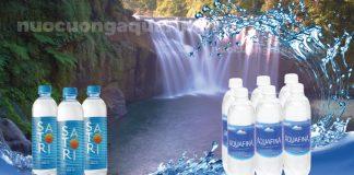 Nên chọn nước uống Aquafina hay nước uống Satori