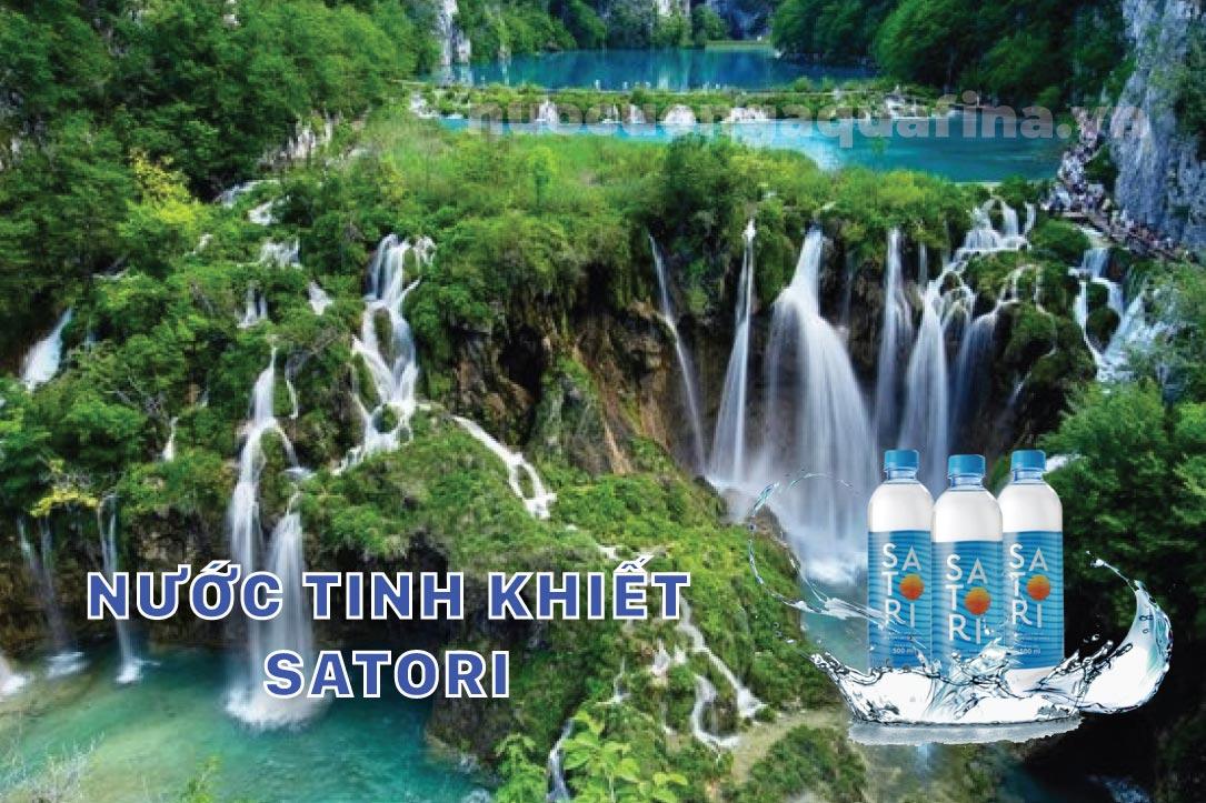 Nước tinh khiết Satori