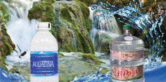 So sánh nước uống Aquafina và Biwa
