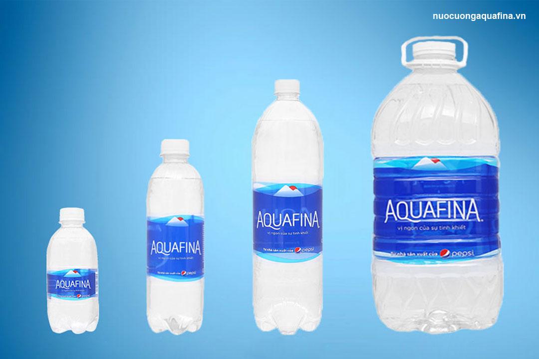 Nên chọn mua nước tinh khiết Aquafina hay Hosana?