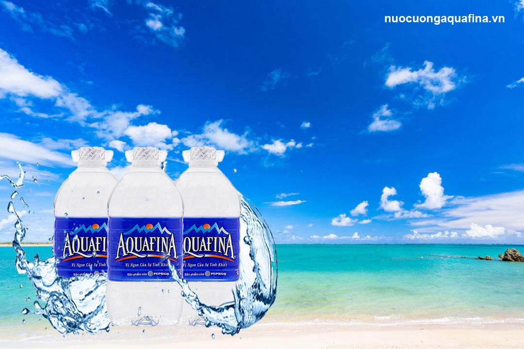 Khác biệt giữa nước tinh khiết Aquafina và Neva là gì?