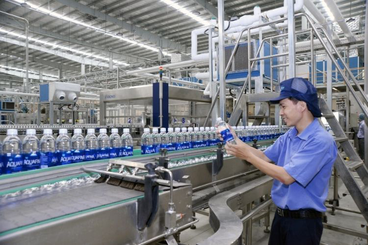 Nhà máy Aquafina của Suntory Pepsico